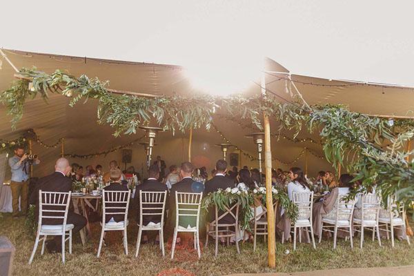 Ariana & Matt Wedding - Stretch Tent in Ballintoy