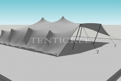 Tentickle 3D Tent Drawing 15m x 12m