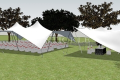 Tentickle Wedding Tent - 3D Image