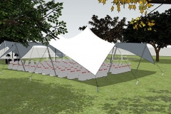 Tentickle Stretch Tents - 3D Wedding Tent Image
