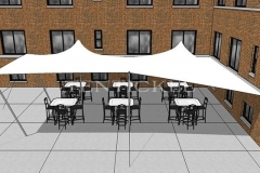 3D Image of a Tentickle Wedding Tent