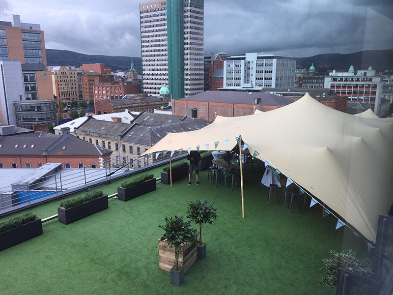 Maverick Ireland Roof Top Corporate Tent