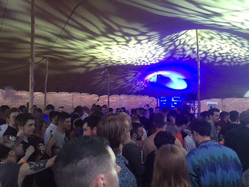Maverick Ireland Stage Tent