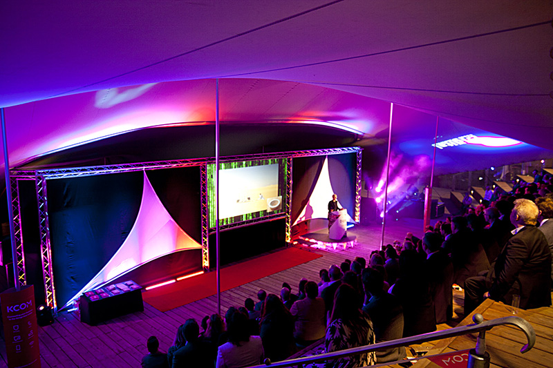 Tentickle UK Midlands Stage Tent