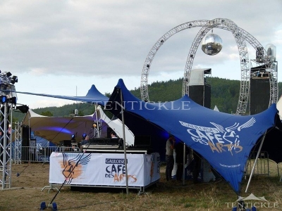 Staged Event Tent