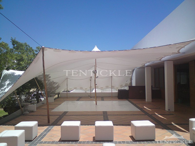 Maximize your outdoor seating capacity with a stretch tent for Semi permanent tent