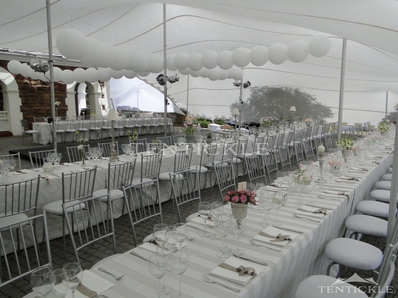 Marquee ct wedding