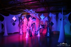 Coloured Tentickle Tent Lighting