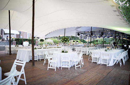 Argentinian Wedding Reception Tents