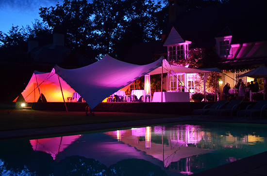 Our Stretch Tents will give your event a memorable look