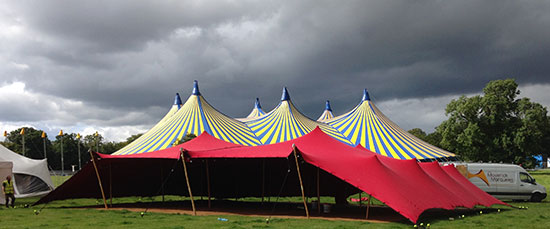 Tentickle Tents at Electric Picnic