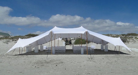 Pitch Anywhere - Tented Wedding