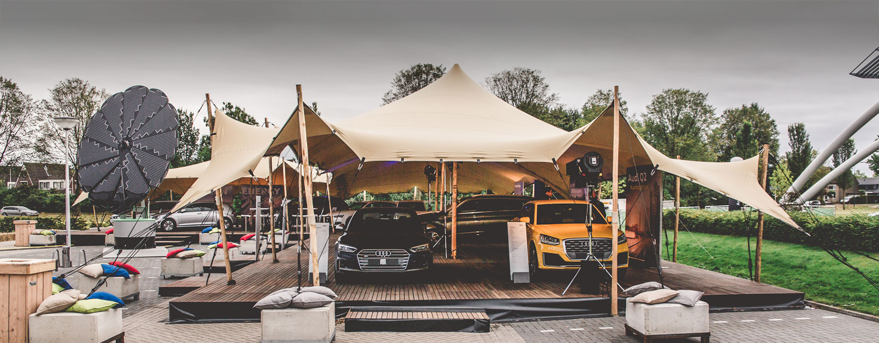 Stretch Marquees From Tentickle Netherlands Buy Or Rent