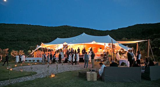 Tented Outdoor Event Planning